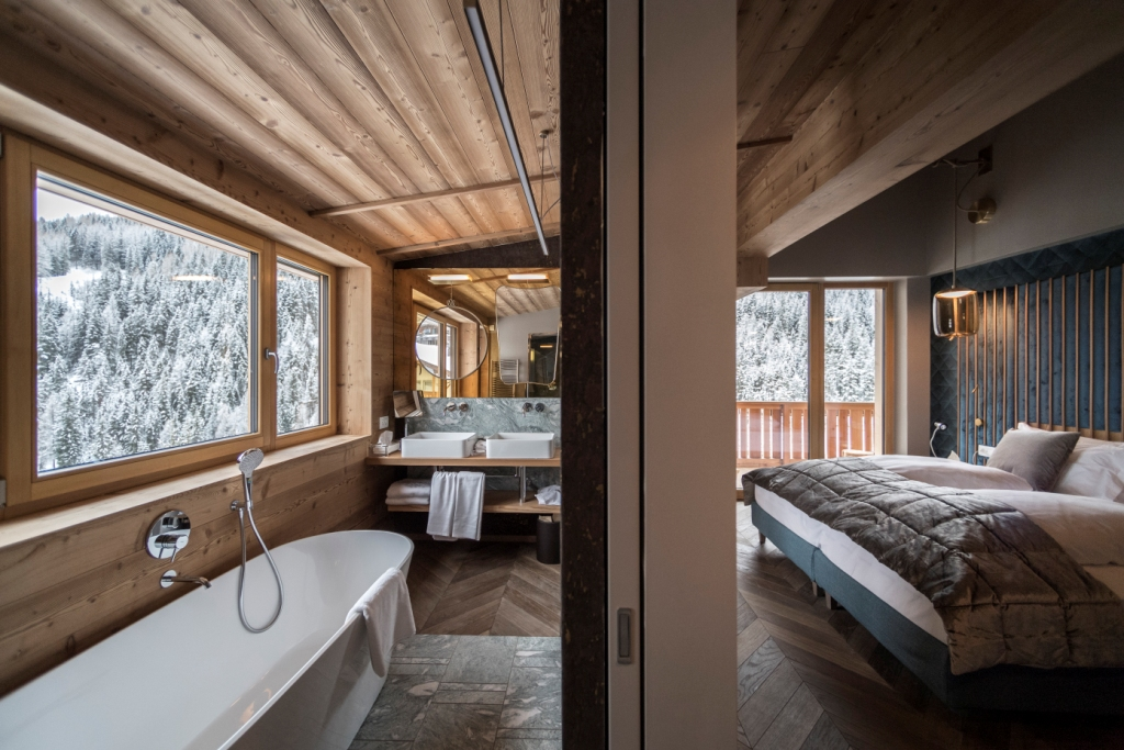 A NEW PENTHOUSE FOR ROSA ALPINA HOTEL SPA Stylux En - Hotel and spa rosa alpina