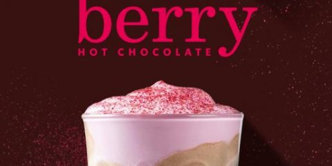 Starbucks Berry Kiss Hot Chocolate