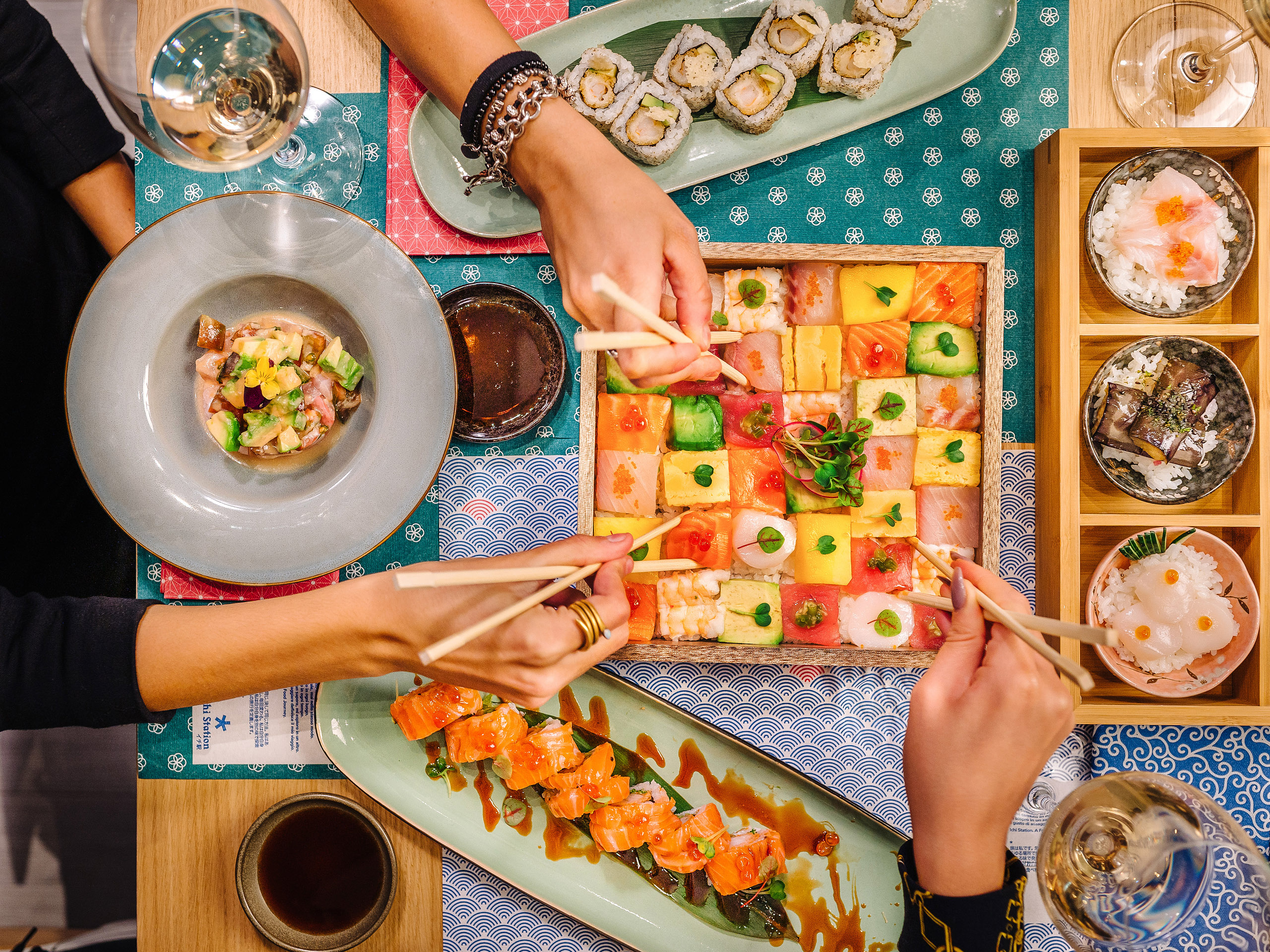 Ichi Station By Haruo Ichikawa Becomes A Restaurant Stylux En There are 218 sushi station for sale on etsy, and they cost $18.75 on average. stylux